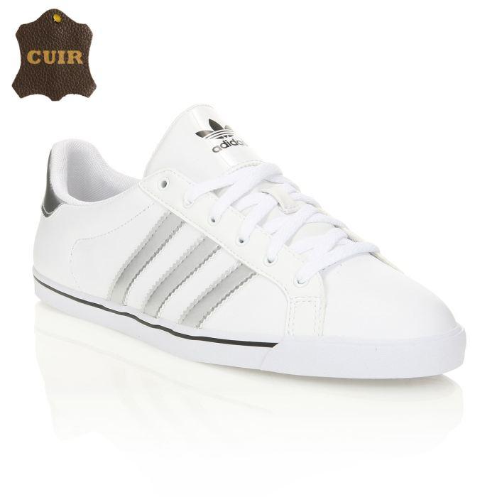 chaussure adidas femme blanche